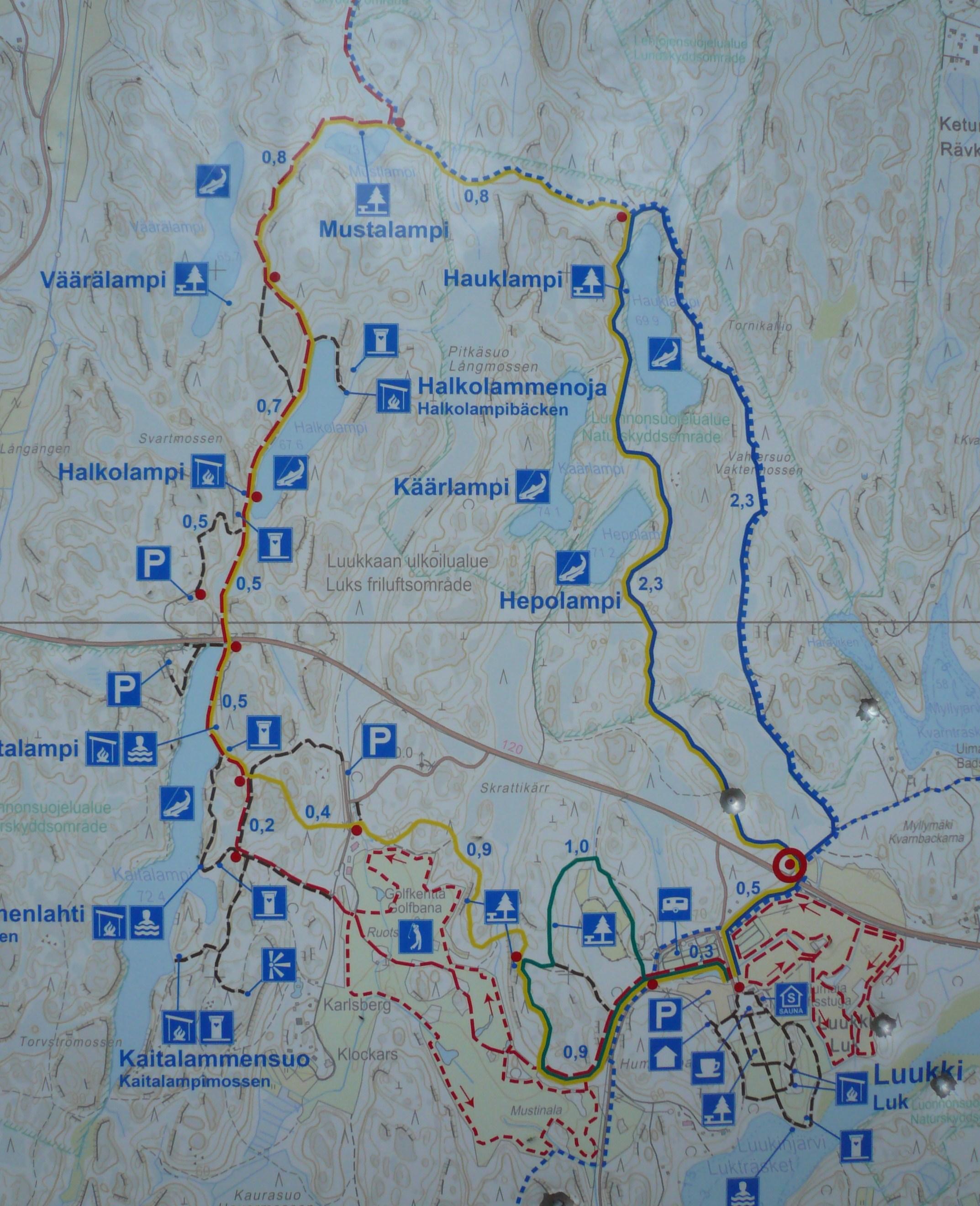 Syysvaellus Nuuksio Luukki Ja Vaakkoi 24 25 10 2015