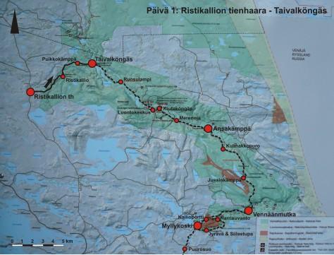 Kevatvaellus Karhunkierros Kuusamo 16 22 5 2016 Vaellusjutut